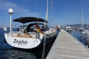 Zephir in Baiona